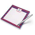Buoy & Argyle Print Notepad (Personalized)