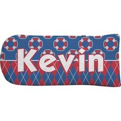 Buoy & Argyle Print Putter Cover (Personalized)