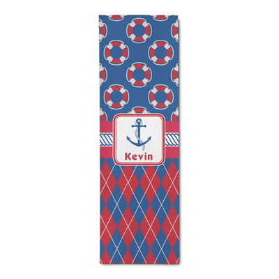 Buoy & Argyle Print Runner Rug - 3.66'x8' (Personalized)