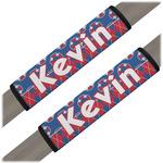 Buoy & Argyle Print Seat Belt Covers (Set of 2) (Personalized)
