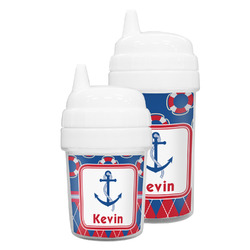 Buoy & Argyle Print Sippy Cup (Personalized)