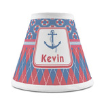 Buoy & Argyle Print Chandelier Lamp Shade (Personalized)