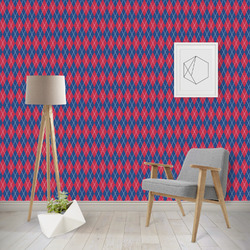 Buoy & Argyle Print Wallpaper & Surface Covering