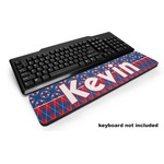 Buoy & Argyle Print Keyboard Wrist Rest (Personalized)