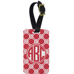 Celtic Knot Aluminum Luggage Tag (Personalized)