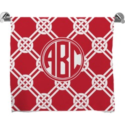 Celtic Knot Full Print Bath Towel (Personalized)