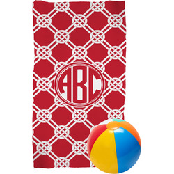 Celtic Knot Beach Towel (Personalized)