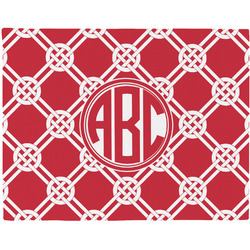 Celtic Knot Woven Fabric Placemat - Twill w/ Monogram