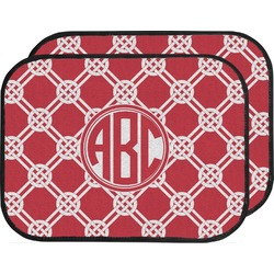 Celtic Knot Car Floor Mats (Back Seat) (Personalized)