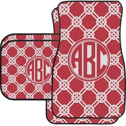 Celtic Knot Car Floor Mats Set - 2 Front & 2 Back (Personalized)