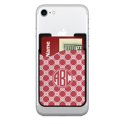 Celtic Knot 2-in-1 Cell Phone Credit Card Holder & Screen Cleaner (Personalized)