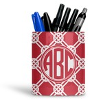 Celtic Knot Ceramic Pen Holder