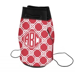 Celtic Knot Neoprene Drawstring Backpack (Personalized)