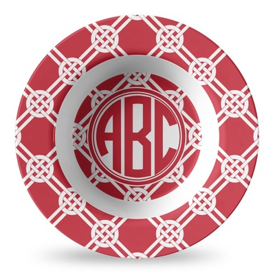 Celtic Knot Plastic Bowl - Microwave Safe - Composite Polymer (Personalized)