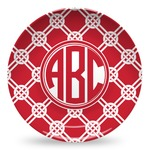 Celtic Knot Microwave Safe Plastic Plate - Composite Polymer (Personalized)