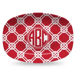 Celtic Knot Plastic Platter - Microwave & Oven Safe Composite Polymer (Personalized)
