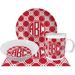 Celtic Knot Dinner Set - 4 Pc (Personalized)