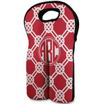 Celtic Knot Wine Tote Bag (2 Bottles) (Personalized)