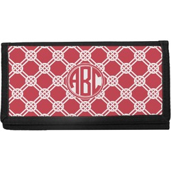 Celtic Knot Canvas Checkbook Cover (Personalized)