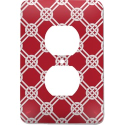 Celtic Knot Electric Outlet Plate (Personalized)