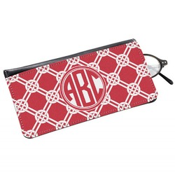 Celtic Knot Genuine Leather Eyeglass Case (Personalized)