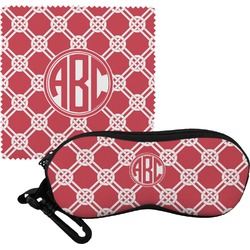 Celtic Knot Eyeglass Case & Cloth (Personalized)