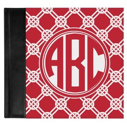 Celtic Knot Genuine Leather Baby Memory Book (Personalized)