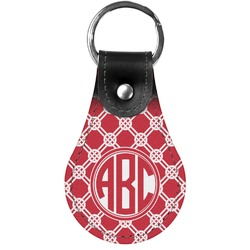 Celtic Knot Genuine Leather  Keychains (Personalized)