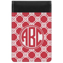 Celtic Knot Genuine Leather Small Memo Pad (Personalized)