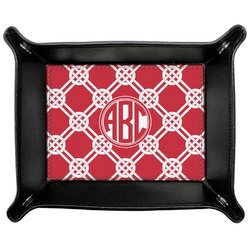 Celtic Knot Genuine Leather Valet Tray (Personalized)