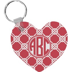 Celtic Knot Heart Keychain (Personalized)