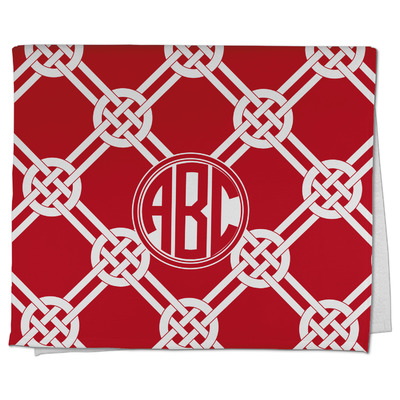 Celtic Knot Kitchen Towel - Full Print (Personalized)