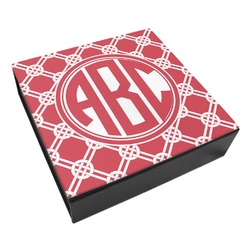 Celtic Knot Leatherette Keepsake Box - 3 Sizes (Personalized)