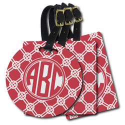 Celtic Knot Plastic Luggage Tags (Personalized)