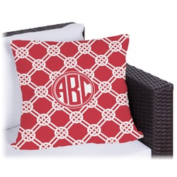 Celtic Knot Outdoor Pillow (Personalized)