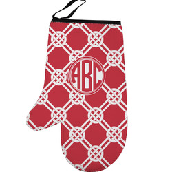 Celtic Knot Left Oven Mitt (Personalized)