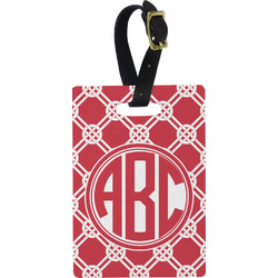 Celtic Knot Rectangular Luggage Tag (Personalized)