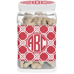 Celtic Knot Pet Treat Jar (Personalized)