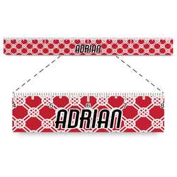 """Celtic Knot Plastic Ruler - 12"""" (Personalized)"""