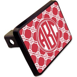 "Celtic Knot Rectangular Trailer Hitch Cover - 2"" (Personalized)"