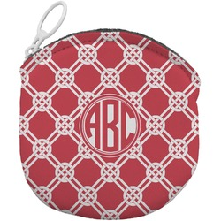 Celtic Knot Round Coin Purse (Personalized)