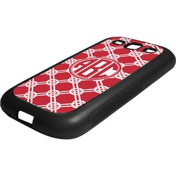 Celtic Knot Rubber Samsung Galaxy 3 Phone Case (Personalized)