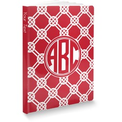 """Celtic Knot Softbound Notebook - 7.25"""" x 10"""" (Personalized)"""