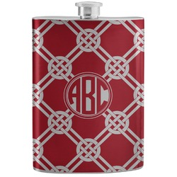 Celtic Knot Stainless Steel Flask (Personalized)