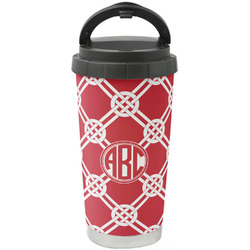 Celtic Knot Stainless Steel Travel Mug (Personalized)