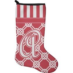 Celtic Knot Holiday Stocking - Single-Sided - Neoprene (Personalized)