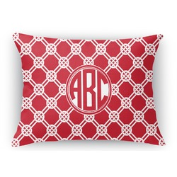 Celtic Knot Rectangular Throw Pillow Case (Personalized)