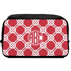 Celtic Knot Toiletry Bag / Dopp Kit (Personalized)