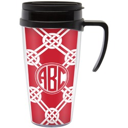 Celtic Knot Travel Mug with Handle (Personalized)