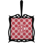 Celtic Knot Trivet with Handle (Personalized)